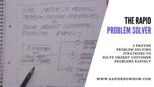 The Rapid Problem Solver