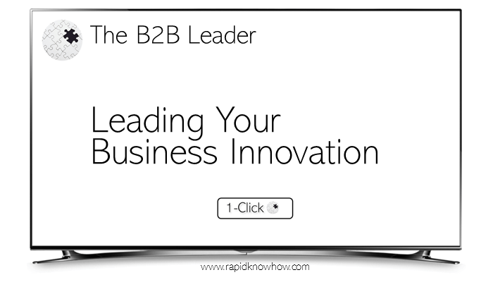 Becoming The B2B Leader – Top 8 Business Innovation Models That Help You Drive Market Value