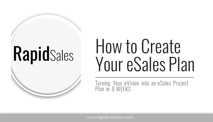 How to Create Your eSales Plan